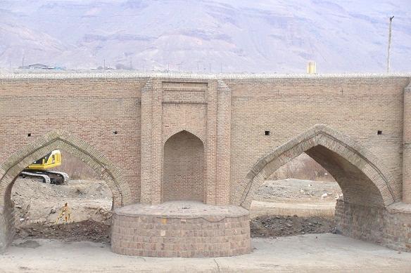 آشنایی با پل آجی چای - آذربایجان شرقی