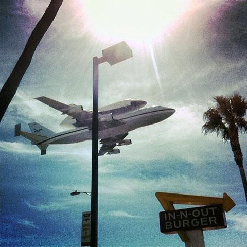 تصاویری دیدنی از آخرین پرواز شاتل ناسا