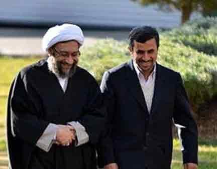 دولت نامه دو سال پیش احمدینژاد به لاریجانی را منتشر کرد