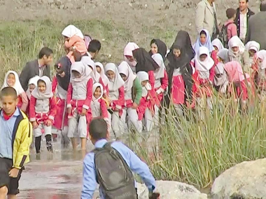 کودکان روستاهای عرب خنیمه از توابع شهرستان رستم استان فارس