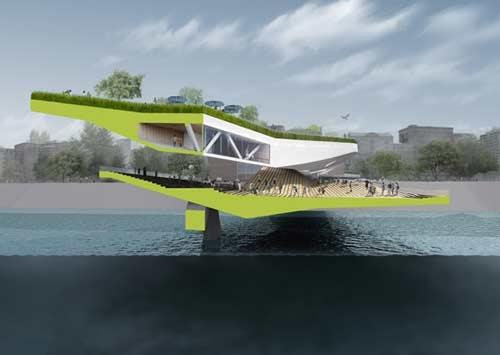 پلهای عابر پیاده به تفرجگاه شهری تبدیل میشوند