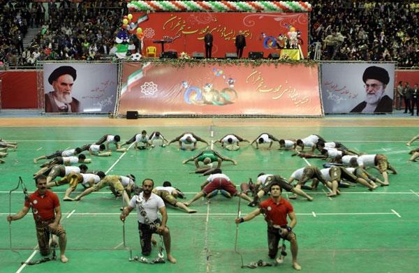 المپیاد ورزشی محلات تهران؛ تصاویر مراسم اختتامیه