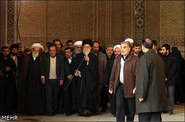 گزارش تصویری؛ تشییع مرحوم آیتالله مجتبی تهرانی