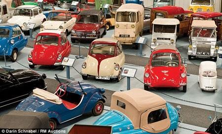 حراج مجموعهای 10 میلیون دلاری از ماشینهای کوچک