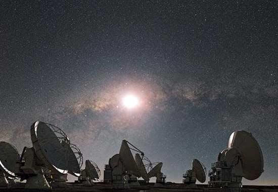 بزرگترین رادیو تلسکوپ جهان