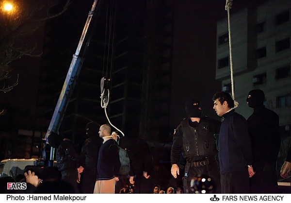 زورگیران جوان اعدام شدند