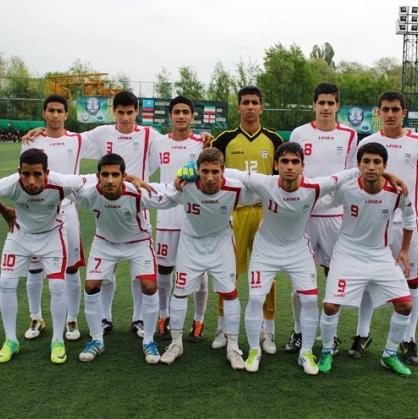 پیروزی تیم ملی نوجوانان در اولین بازی