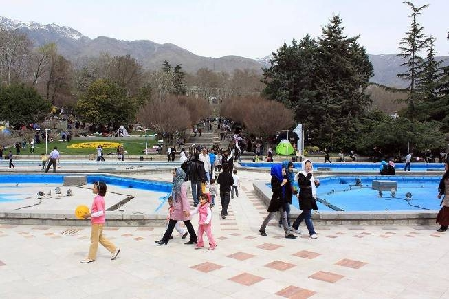 آشنایی با بوستان نیاوران - تهران