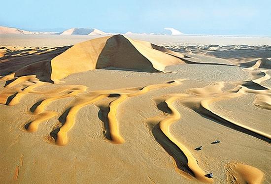 بیابان عرب در شبه جزیره عربستان
