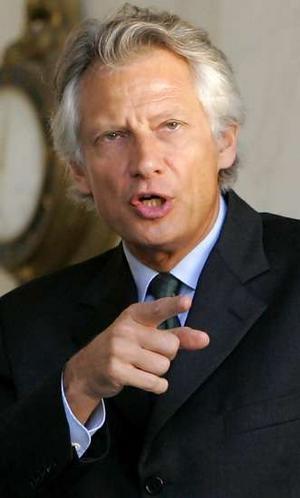 هشدار دو ویلپن در مورد مداخله نظامی فرانسه در مالی