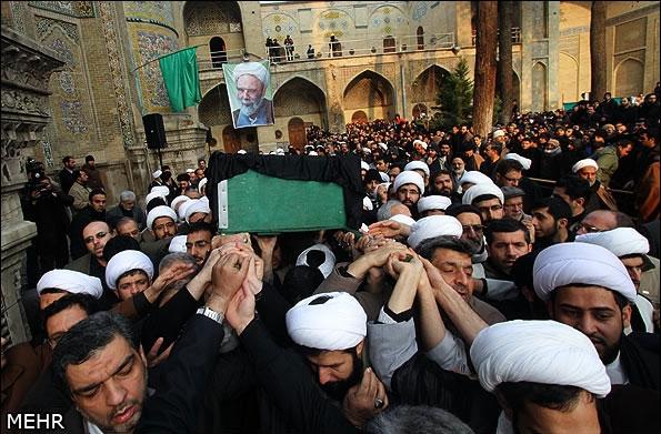 پیکر آیتالله مجتبی تهرانی