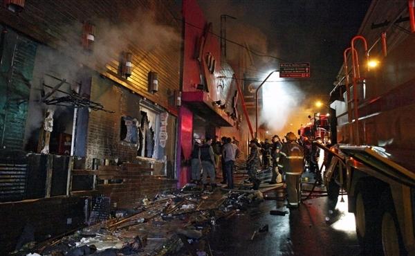 آتش سوزی در برزیل 180 کشته و 200 زخمی برجا گذاشت