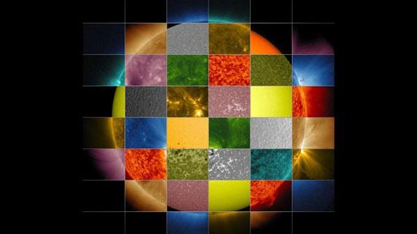 طولموجهای مختلف خورشیدی