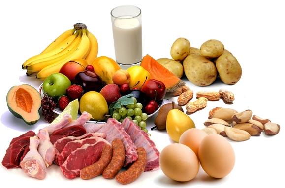 آشنایی با خواص مواد غذایی