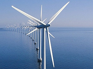 ساخت بزرگترین توربین بادی جهان تا سال 2014