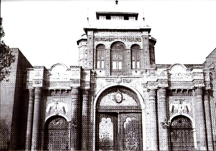 آشنایی با دروازه باغ ملی - تهران