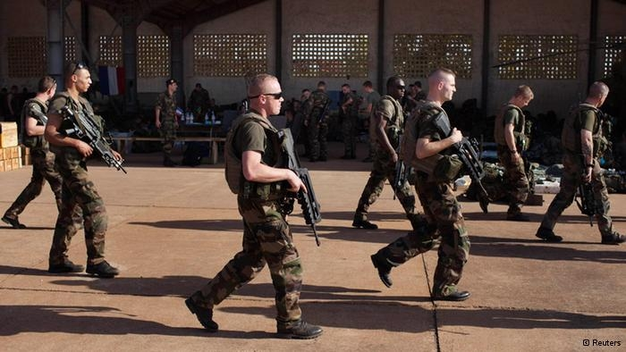 france forces in Mali