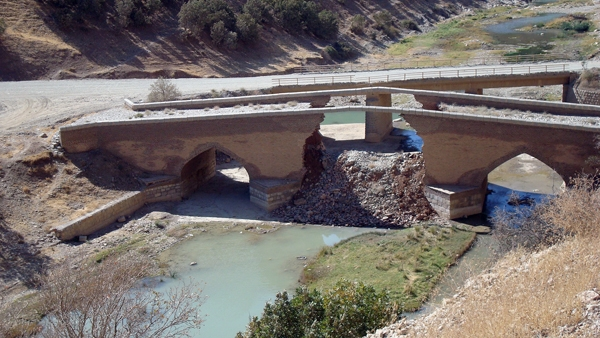 پل تاریخی گاران مریوان - کردستان