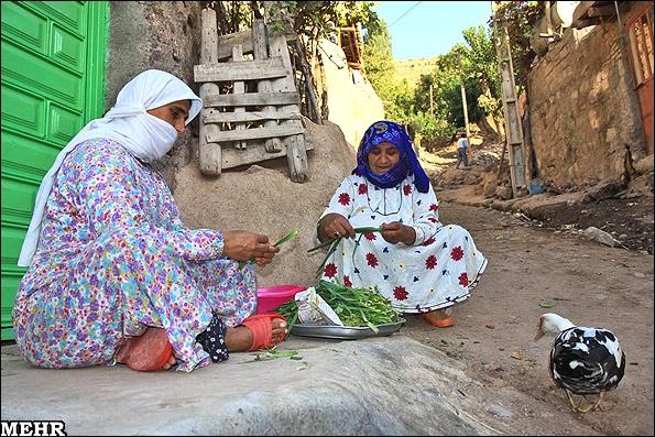 آشنایی با روستای کزج - اردبیل