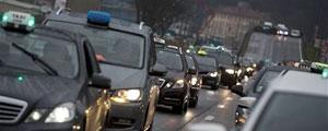 رانندگان تاکسی در فرانسه دست به اعتصاب زدند