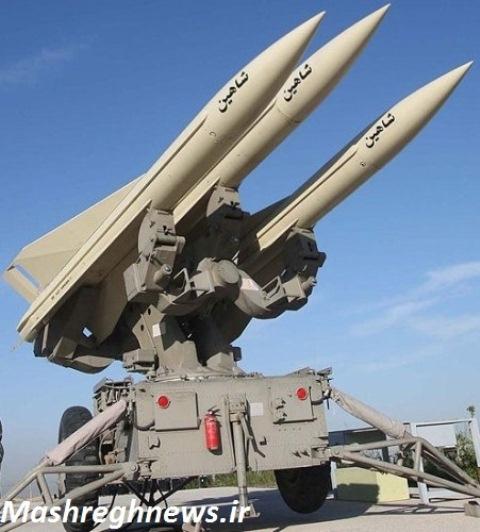 پرتابگر سه فروندی موشک سطح به هوای شاهین