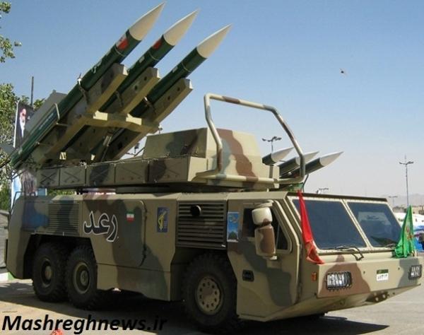 پرتابگر موشک سطح به هوای رعد
