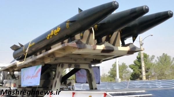 پرتابگر سه تایی حامل موشک خلیج فارس