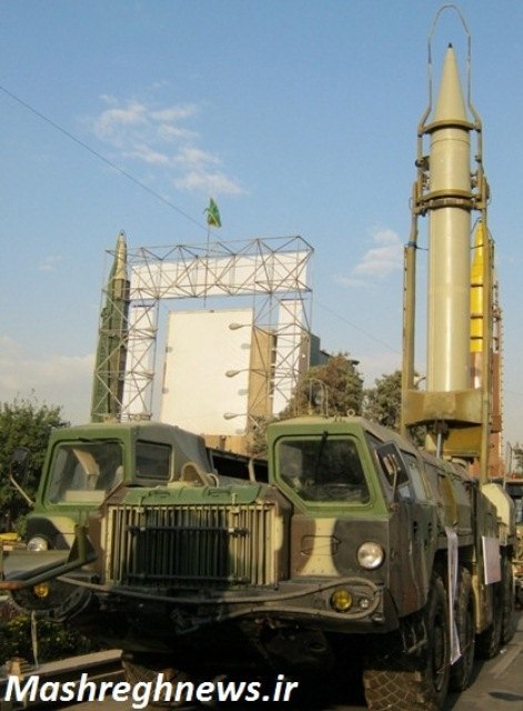 پرتابگر موشک های شهاب 1 و 2