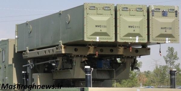 پرتابگر سه فروندی موشک ضد کشتی نور