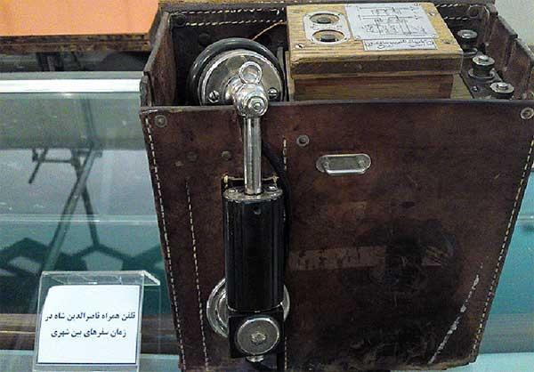 آشنایی با نخستین تلفن همراه ایران