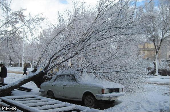 برف پیرانشهر کولاک