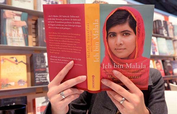 عکس روز از کتاب من ملاله هستم
