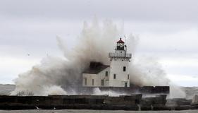 طوفان دریایی «سندی» در شرق آمریکا