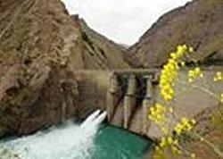 حجم آب مخازن سدهای استان تهران کاهش یافت