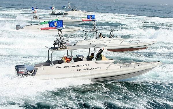 قایقهای تندروی سپاه