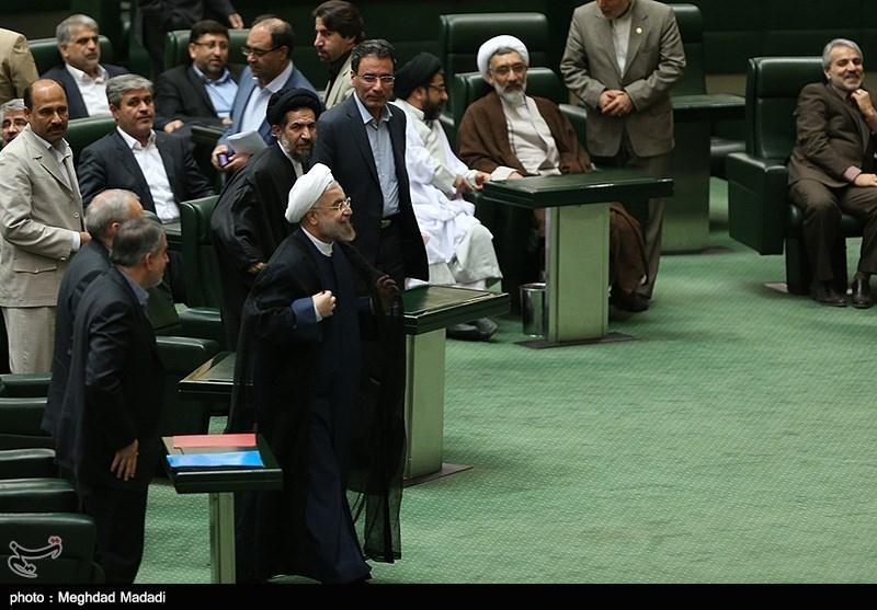 گزارش تصویری از جلسه رای اعتماد به سه وزیر پیشنهادی دولت