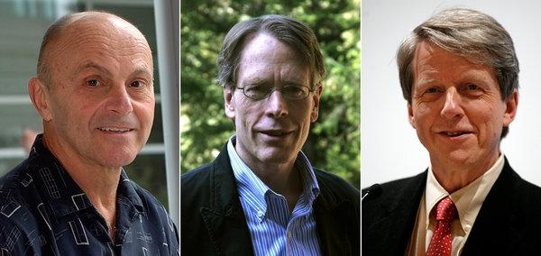 نوبل اقتصاد ۲۰۱۳ نصیب ۳ اقتصاد دان آمریکایی شد