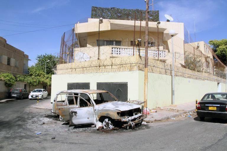 سفارت روسیه در طرابلس لیبی