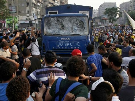 تظاهرات اخوانیها در صدمین روز عزل مرسی