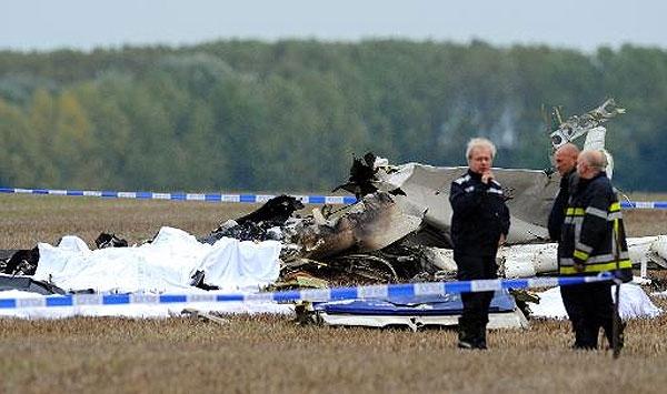 At least 10 dead in plane crash in Belgium