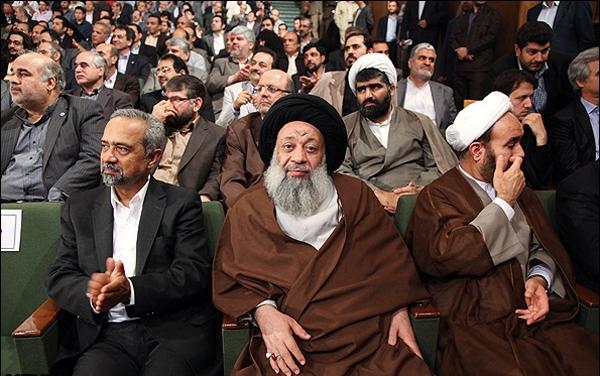 نشستن مجری جلوی رییس جمهور اسکاتلند همشهری آنلاین: تصاویر مراسم آغاز سال تحصیلی دانشگاه ها با حضور روحانی