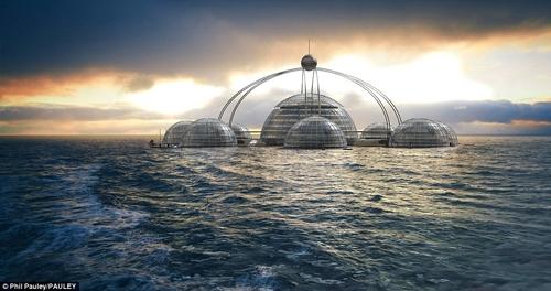 بنای شهری در اعماق دریا