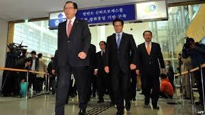 سفر ۲۱ نماینده کره جنوبی به کره شمالی