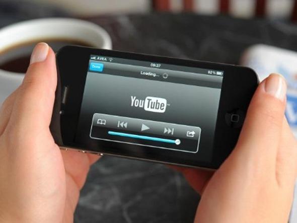 چهل درصد ترافیک یوتیوب از طریق موبایل و تبلت است