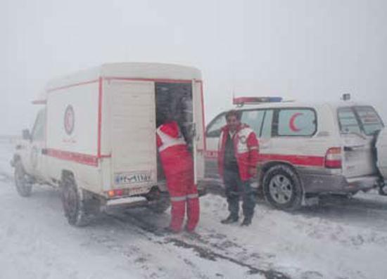 آمادگی اورژانس کشور برای امداد زمستانی