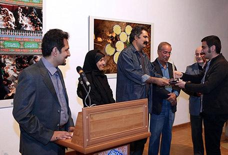 مراسم اهدای جایزه