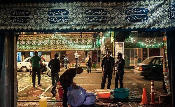 گزارش تصویری از آمادهسازی هیئتهای حسینی