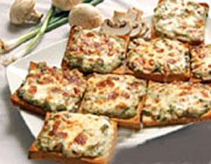 آشنایی با روش تهیهی کاناپس قارچ؛ اردور ایتالیایی