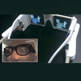 مشاهده اجسام توسط نابینایان با عینک جدید هوشمند