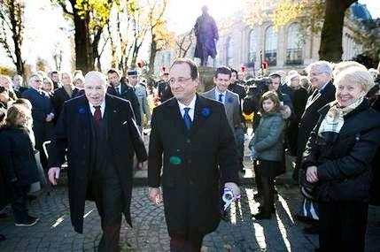 پاریسی ها رییس جمهوری فرانسه را هو کردند